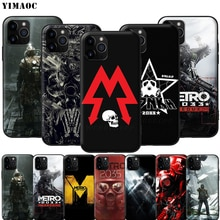 YIMAOC Metro 2033 suave de silicona caso para iPhone 11 Pro XS Max XR 8X8 7 6 6S Plus 5 5S SE