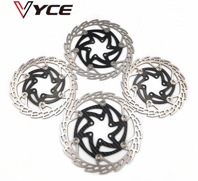 VYCE bike disc brake Rotor 140 160mm Mountain MTB carbon brakes Bicycle Brake Six Nail Disc