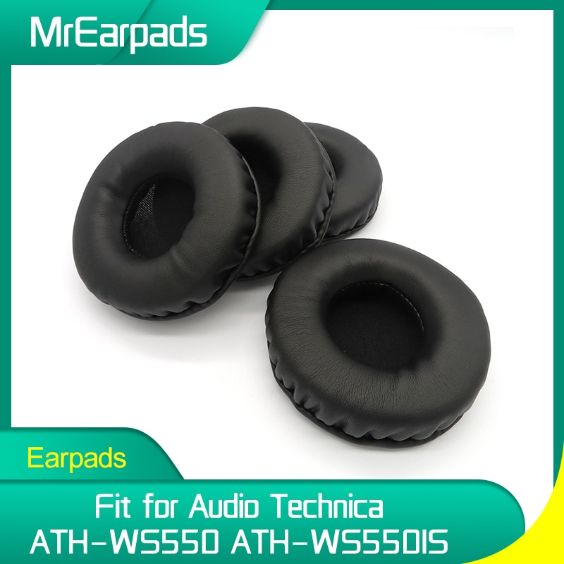 MrEarpads Earpads For Audio Technica ATH WS550 WS550IS Headphone Headband Replacement Ear Pads Earcushions yhcouldin ear pads for audio technica ath ws550 ath ws550is headphone replacement earpads ear cushions