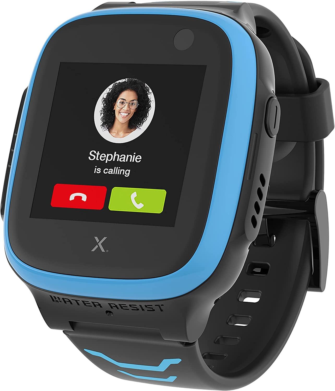 XPLORA X5 Play-ساعة هاتف للأطفال (بشريحة مجانية) 4G-مكالمات ، رسائل ، وضع مدرسة للأطفال ، وظيفة SOS ، موقع جي بي إس ، كاميرا