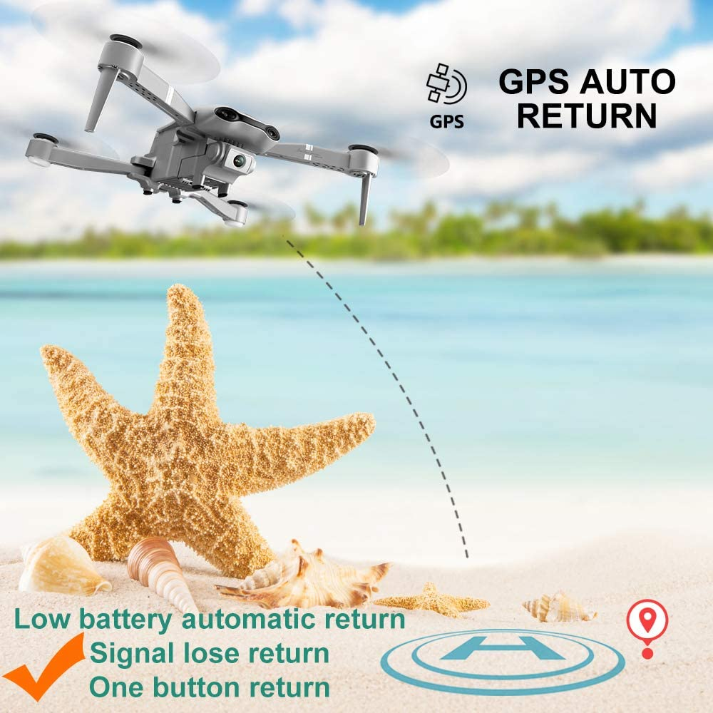 F3 drone GPS 4K 5G WiFi live video FPV quadrotor flight 25 minutes rc distance 500m drone Profesional HD wide-an dual camera 4