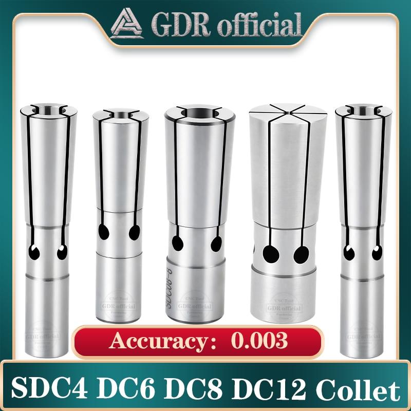 Accuracy 0.003 precision cnc collet DC4 DC6 DC8 DC12 chuck collet pull back collet high precision collet dc collet