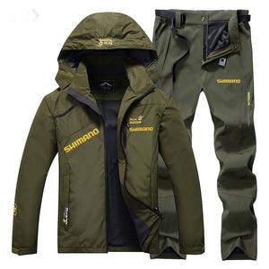 Fishing Clothes Shimanos Fishing Suit for Fishing Clothing Waterproof Autumn Thin Outdoor Fishing Set Windproof Fishing Jacket