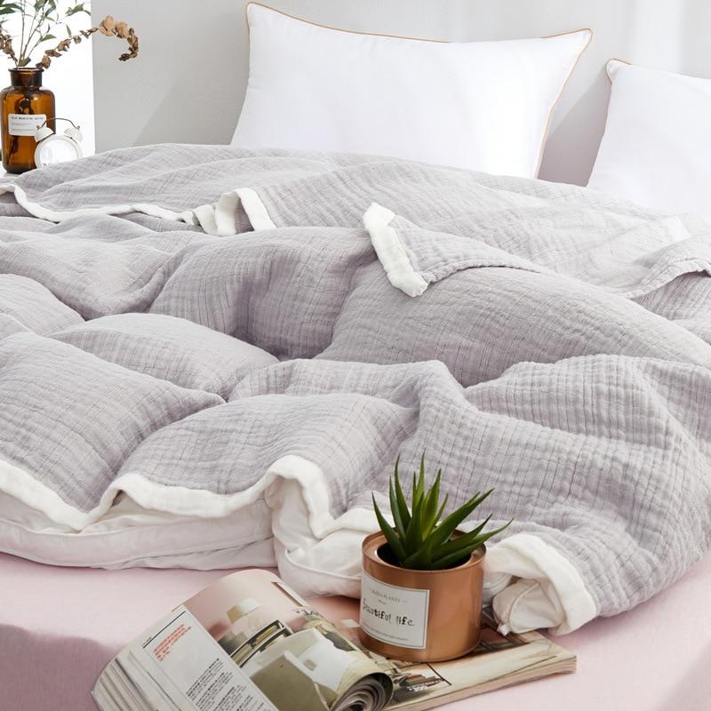 القطن بلون بطانية أريكة تتحول لسرير السفر تنفس شيك ماندالا كبيرة لينة رمي بطانية الفقرة الصيف بطانية