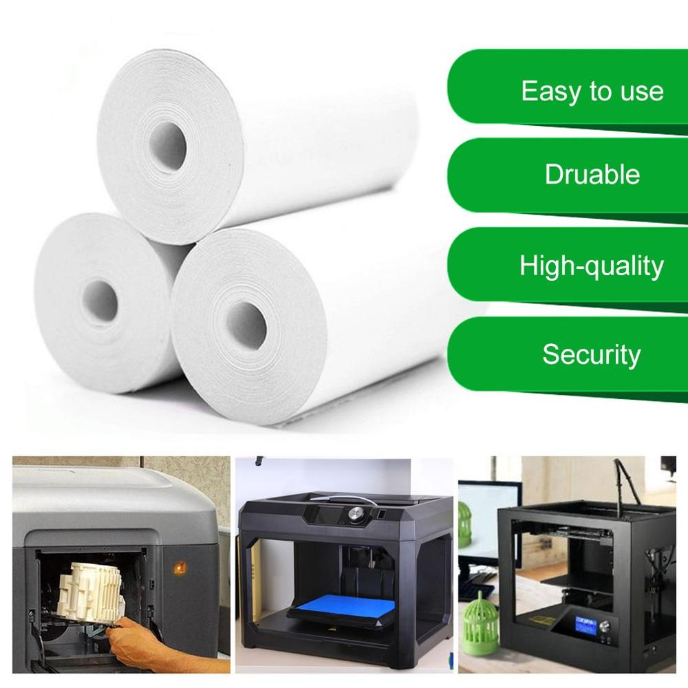 5 Rolls Printable Sticker Paper Roll Direct Thermal Paper with Self-adhesive 57*30mm for PeriPage A6 Pocket PAPERANG P1/P2 недорого