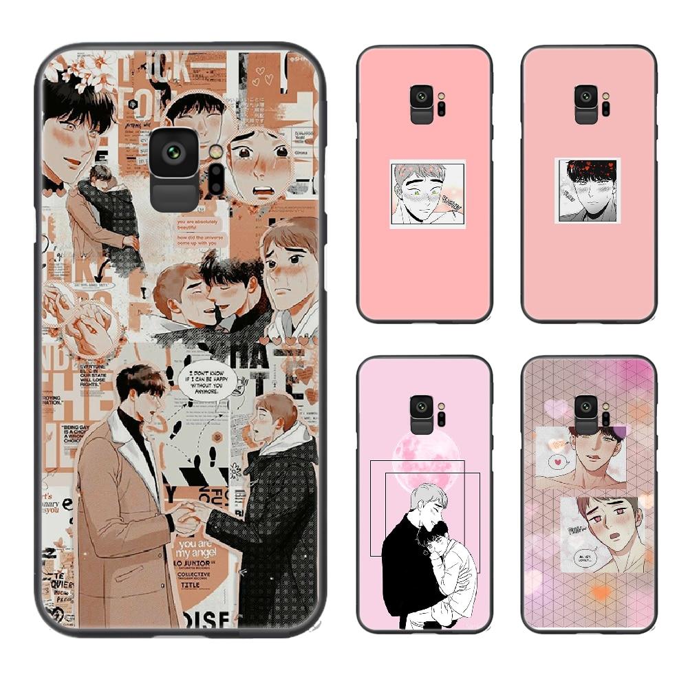 Аниме bj alex manga чехол для телефона Samsung Galaxy A10 A20 A30 E A40 A50 A51 A70 A71 J 5 6 7 8 S черный бампер 3D Водонепроницаемый