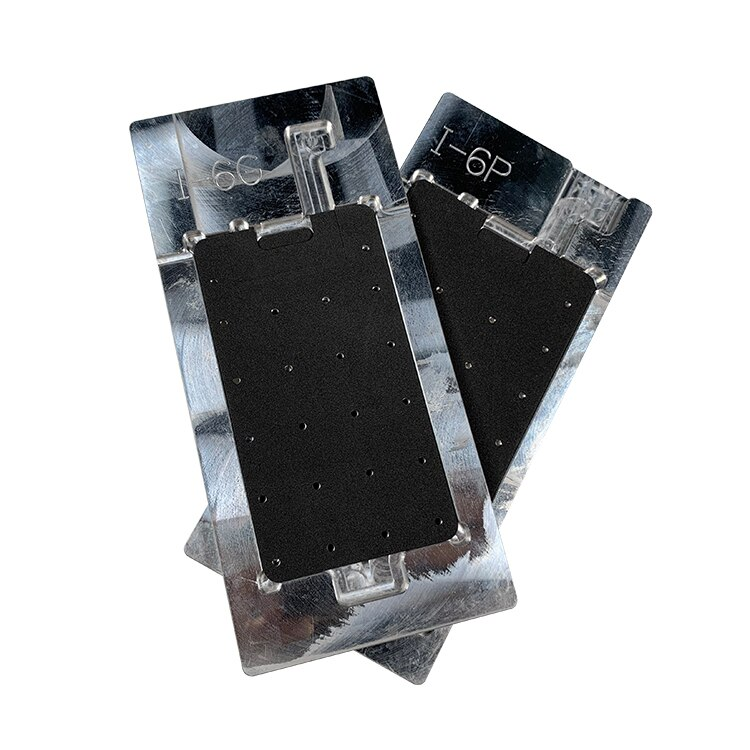 New aluminium mobile phone lcd screen model polarizer remover mould for iphone 5/6/7/8 enlarge