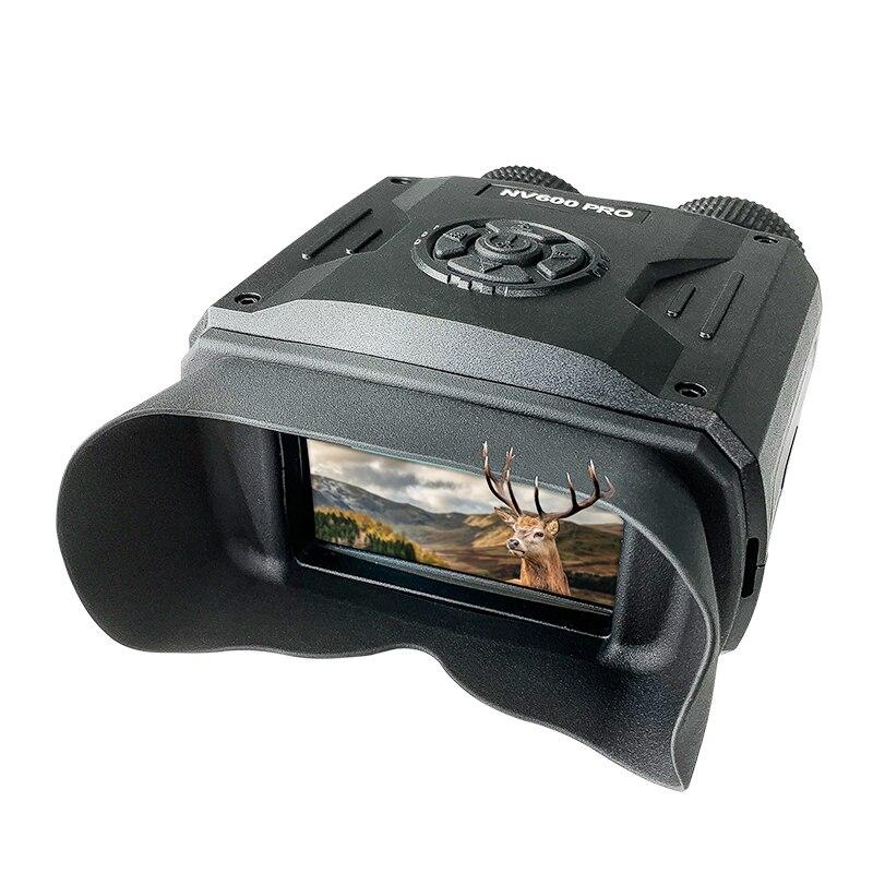 جهاز الرؤية الليلية القابل لإعادة الشحن مناظير 650 ياردة الرقمية الأشعة تحت الحمراء تلسكوب التكبير البصريات صور تسجيل الفيديو كاميرا الصيد