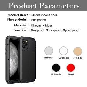 Image 5 - Роскошный металлический алюминиевый чехол с полной защитой 360 для телефона iPhone 12 Pro 12Mini 11Pro Max XS MAX XR X 6 6S 7 8 Plus, противоударный чехол