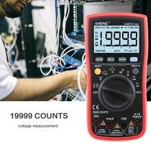 OOTDTY – multimètre numérique AN870 19999, compteur de courant, tension True-RMS