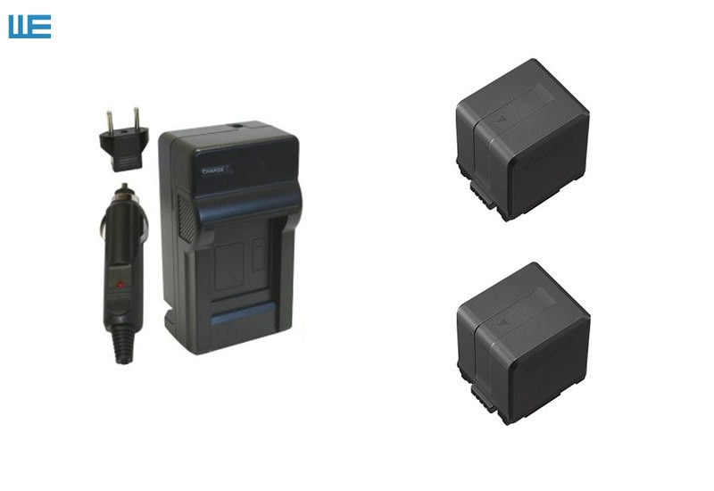 VW-VBG260 VW-VBG130 VBG260 VBG130 batería + cargador para Panasonic HDC-SD600... HDC-SD700... HDC-SDT750... HDC-TM300... HDC-TM700