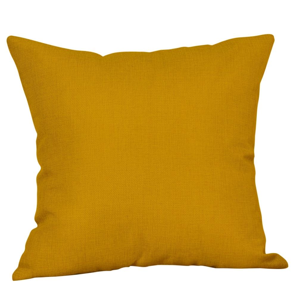 Funda de almohada caso geométrica amarillo Otoño de аниме подушка entrega gratuita D5