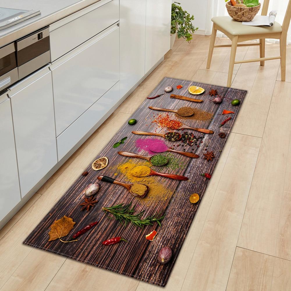 Modern Living Room Rug Kitchen Mat Home Entrance Doormat Bedroom Bedside Decor Carpet Hallway Balcony Bath Anti-Slip Floor Mat