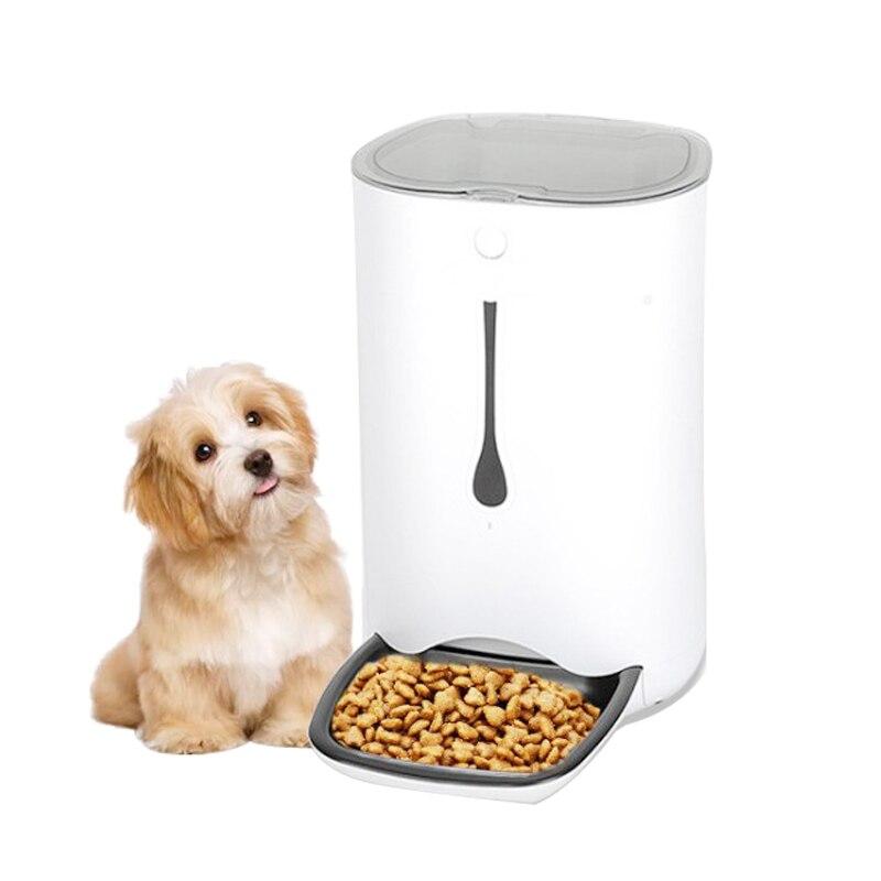 6L Pet Feeder Mode Smart Automatische pet schüssel für Hunde Katzenfutter Feeder Wifi Fernbedienung RC Monitor große große kamera EU UNS