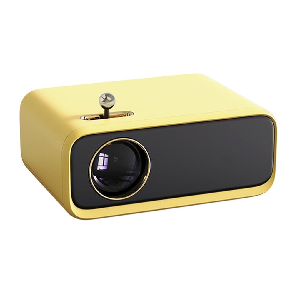جهاز عرض محمول باليد إصدار عالمي قوي من Wanbo X1 مروحة صغيرة منخفضة الضوضاء مزدوجة جهاز عرض عالي الوضوح للمكتب المنزلي