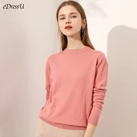 girl sweater jumper women pullover o neck knitwear plus size simple autumn winter high quality korean casual office jumper hw 1a