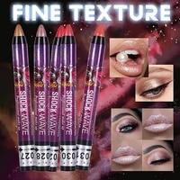 highlighter long lasting colored gradient eyeshadow waterproof lip pen 2 in 1 eyeshadow stick pencil