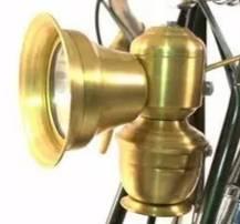 Luz de cobre Retro para bicicleta, accesorios de cobre Retro para bicicletas