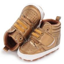 0-18M Brand New Newborn Baby Boy Girl Soft Sole Crib Shoes Warm Boots Anti-slip Sneaker PU Breathabl