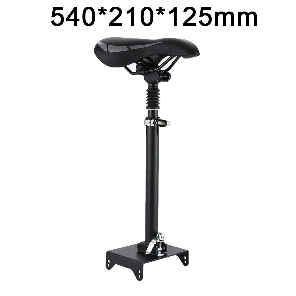 Electric Scooter Seat Adjustable E-Scooter Saddle Steel Retractable Seat For NINEBOT MAX G30 Electric Scooter Accessories