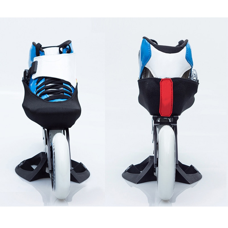 1 пара, уплотненные двухслойные эластичные профессиональные встроенные Катание на коньках ботинки, ледовая фигура, скорость, катание на кон...