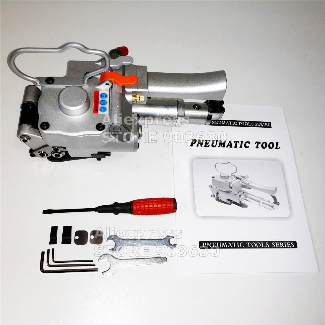 Ferramentas de Cintar de Plástico Máquina de Cintar para 19-25mm Garantido Novo Pneumático Pet – pp & 100% Aqd-25