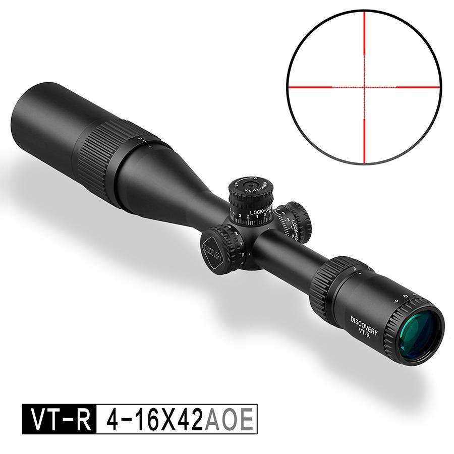 New Discovery Optics VT-R 4-16X42 AOE Tacticle Riflescope Mil Dot Reticle Illuminated Hunting Socpe