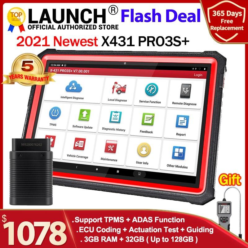 2021 Newest LAUNCH X431 pro3s+ 10.1
