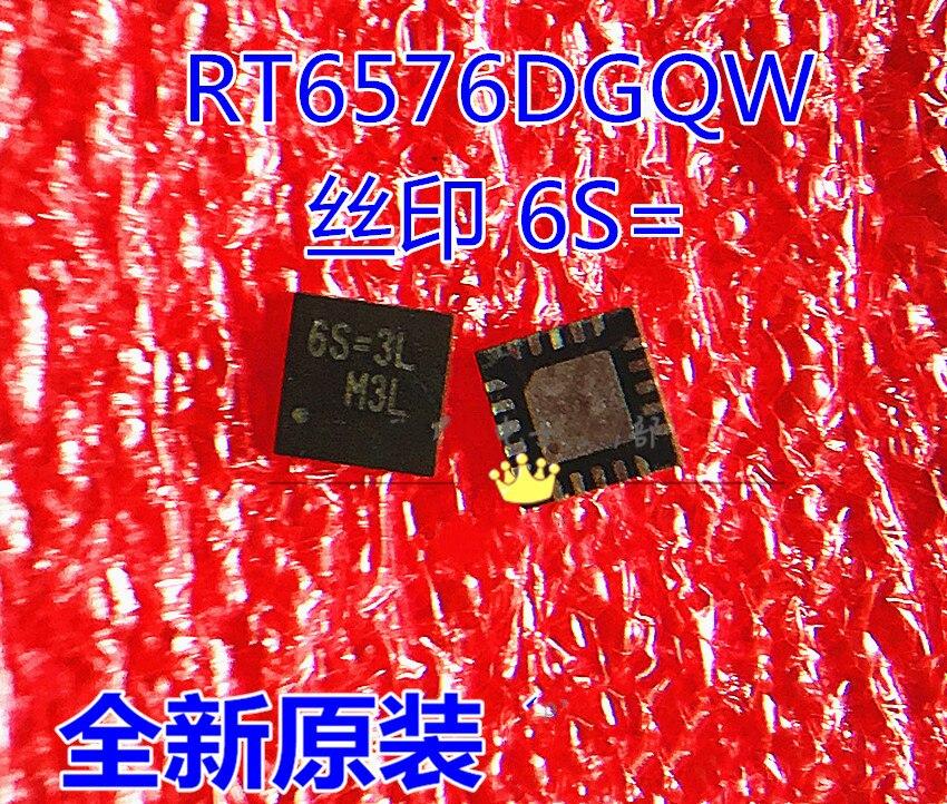 5 peça 10 10 peças/lote rt6576d rt6576dgqw 6s = 3j 6s = 2l 6s = 1d 6s = 2b 6s = 2c 6s = QFN-20 chip de potência novo original em estoque