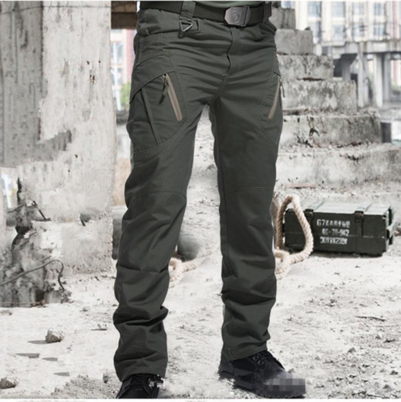 City Military Tactical Pants Men SWAT Combat Army Trousers Men Many Pockets Waterproof Winter Warm Fleece Casual Cargo Pants
