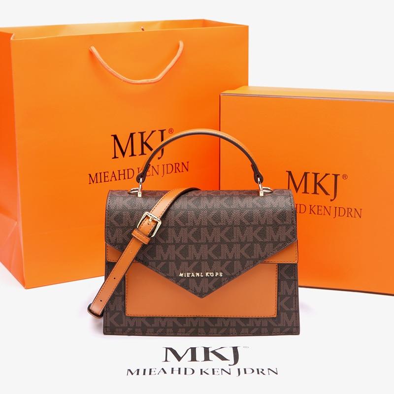 MKJ جودة عالية موضة حقائب كروسبودي للنساء حقيبة كتف العلامة التجارية الجلود المحافظ وحقائب اليد الفاخرة مصمم بولسا الأنثوية