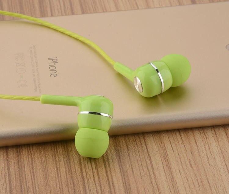 Fone de Ouvido Fone de Ouvido com Microfone Fone de Ouvido para o Telefone Peças Brandnew Wired In-ear com Microfone 3.5mm Jack para o Telefone Móvel ou Tablet pc Mp3 Mp5 100