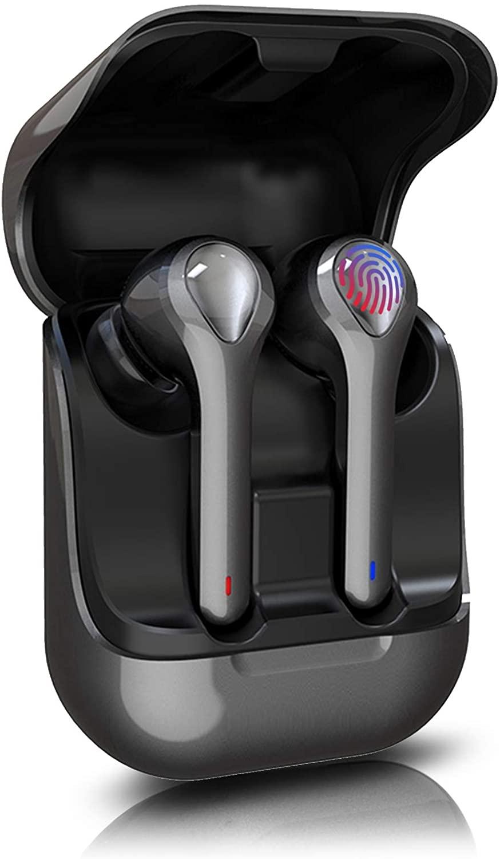 Bluetooth sem Fio Fone de Ouvido Redução de Ruído Adequado para Esportes Hi-fi Esportes In-ear Tws5.0 é