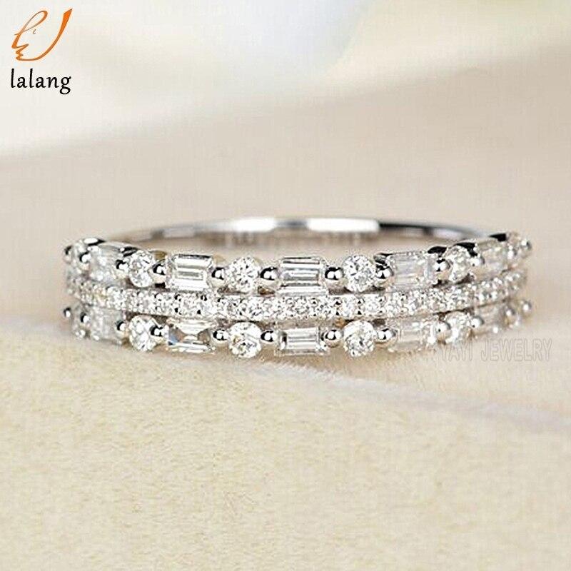 Mulheres marca Anel de Dedo Anéis de Noivado para As Mulheres de Casamento Anéis anillos Jóia Do Corpo Tamanho 6 7 8 9 10