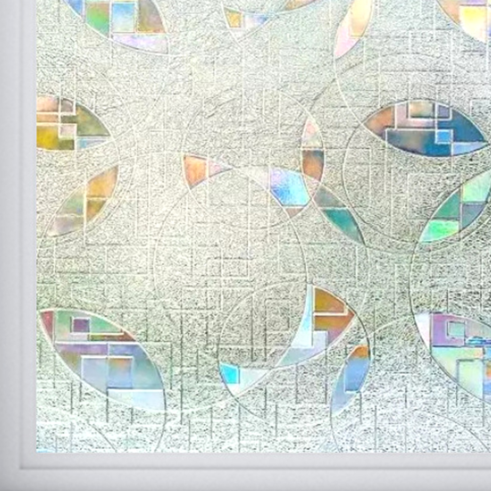 Антистатические наклейки на окна, виниловые 3D наклейки на окна, защита от УФ излучения