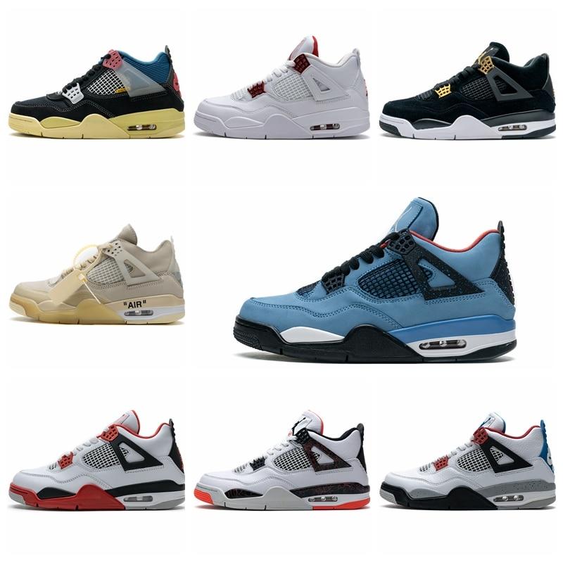 Zapatillas de deporte Zapatillas de baloncesto AJ4 para hombre y calzado deportivo...