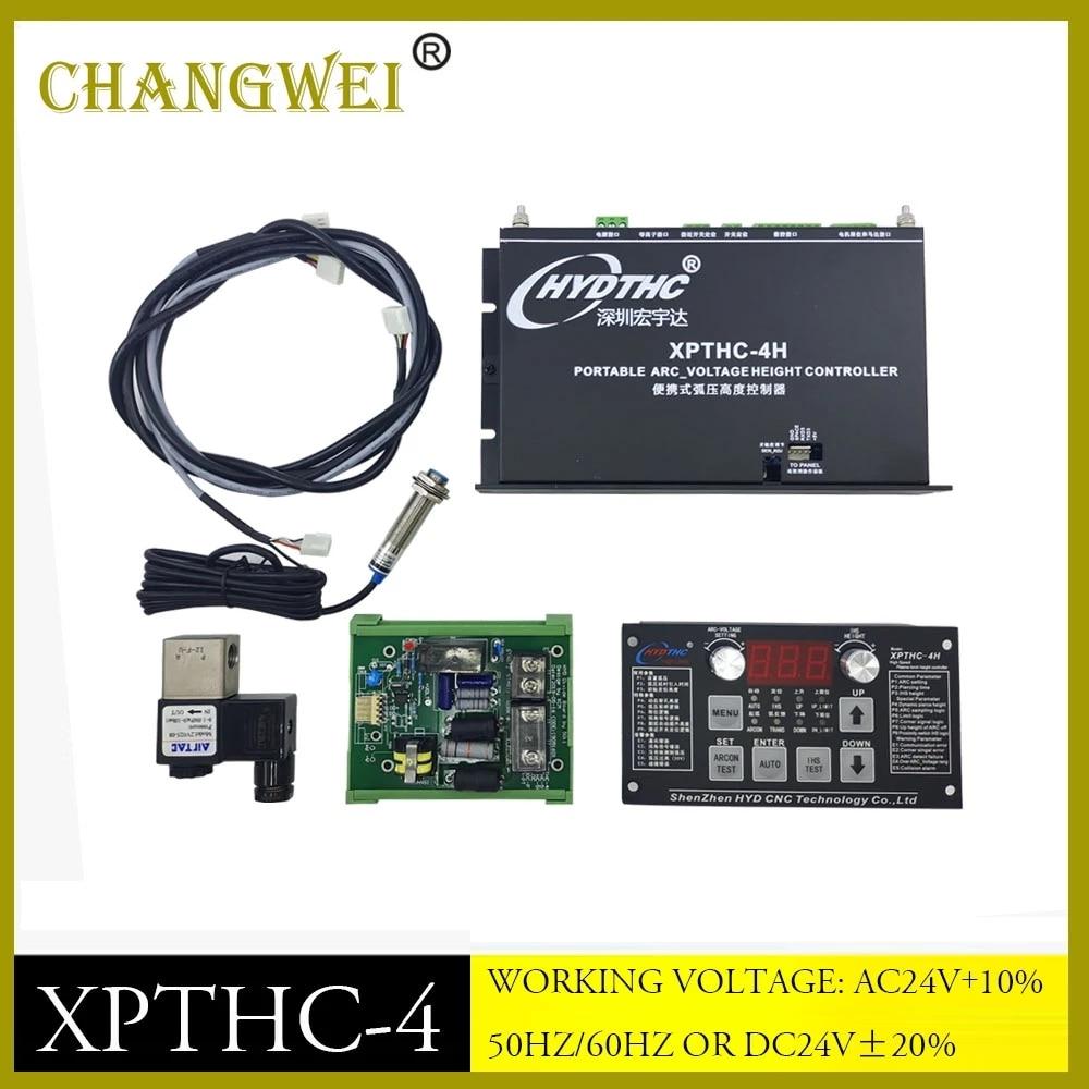 HYD XPTHC-4 قوس الجهد البلازما تحكم قوس مفتاح التحكم في الارتفاع المزود بمصباح THC لقطع البلازما باستخدام الحاسب الآلي