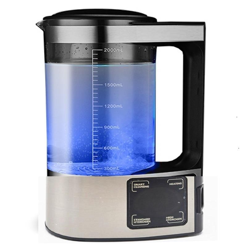 100-240 فولت 2L الكهربائية الهيدروجين الغنية غلاية المياه آلة الماء المؤين تصفية المياه شرب مولد ماء الهيدروجين