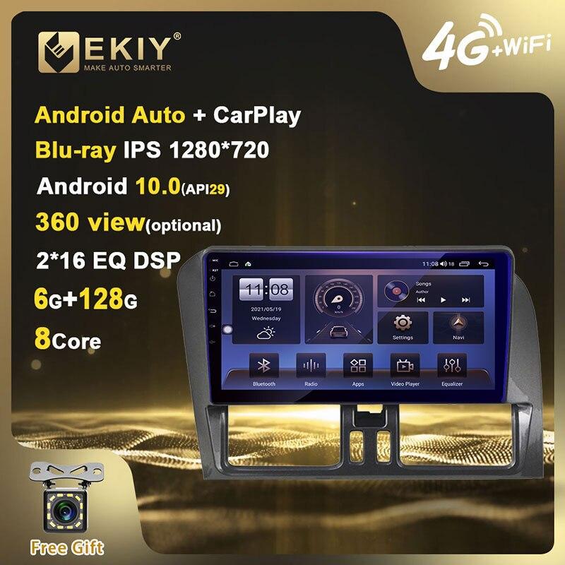 EKIY Blu-ray IPS DSP Android 10 Radio de coche 6 + 128G...