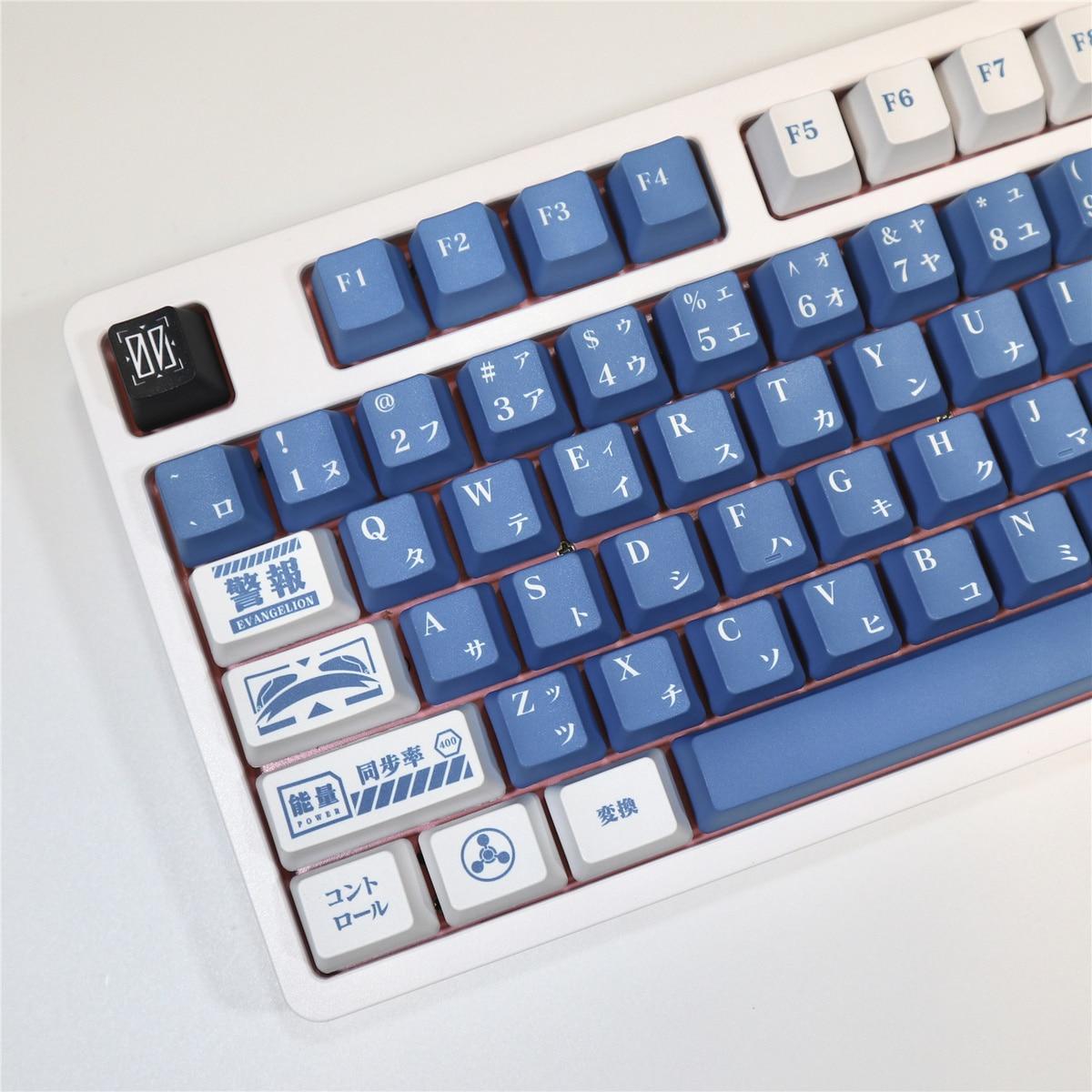 110-key Japanese Anime Evangelion EVA Lilith Keycap PBT Sublimation OEM Highly Mechanical Keyboard Keycap Cherry MX Switch/61/64