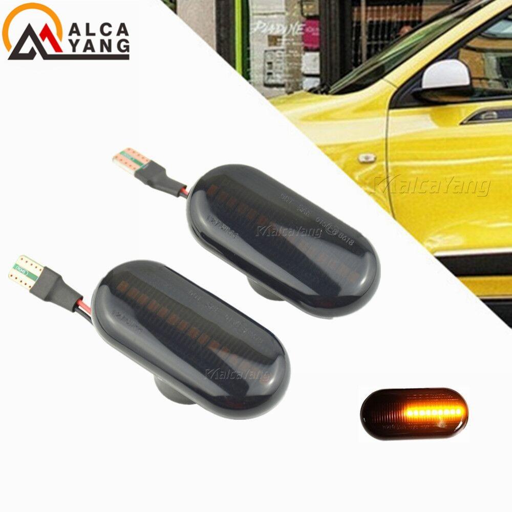 For Opel MOVANO VIVARO Nissan INTERSTAR PRIMASTAR KUBISTAR Smart FORTWO Led Dynamic Side Marker Turn Signal Light For Renault