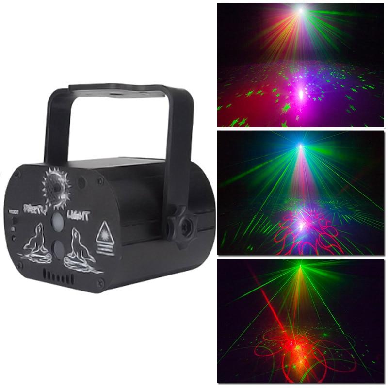 YSH luces denavidad декоративный светодиодный светильник для помещений, праздничный проектор, эффект RGB Гирлянда, Рождественская Праздничная комна...