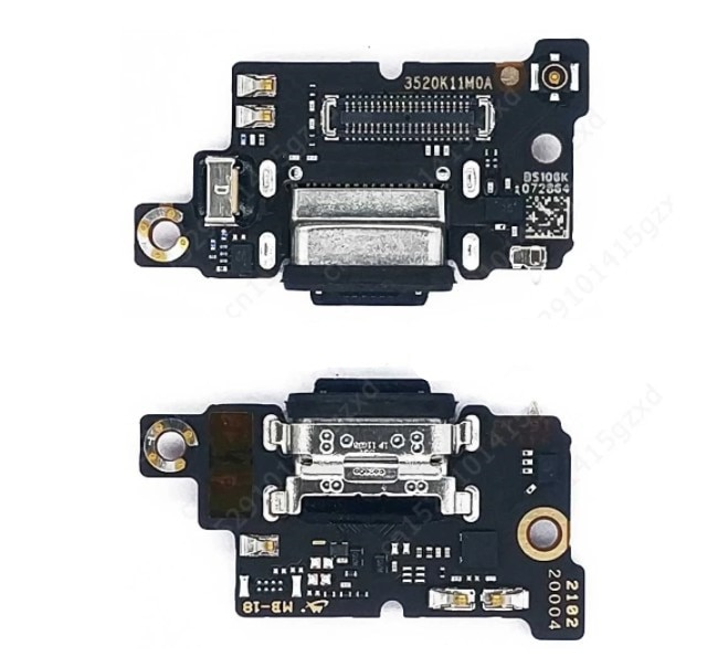 USB Charging Port Dock Connector For Xiaomi POCO X3 / X3 Pro Data Flex Cable Board Jack Socket Charg