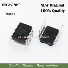 10 PIÈCES AT93C46 93C46 DIP-8 EEPROM 64x16 nouveau IC
