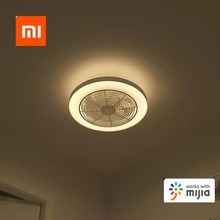 Xiaomi mijia Yeelight 61W fixe ventilateur de plafond lumière intelligente sans fil bluetooth connexion cc onduleur Circulation dair
