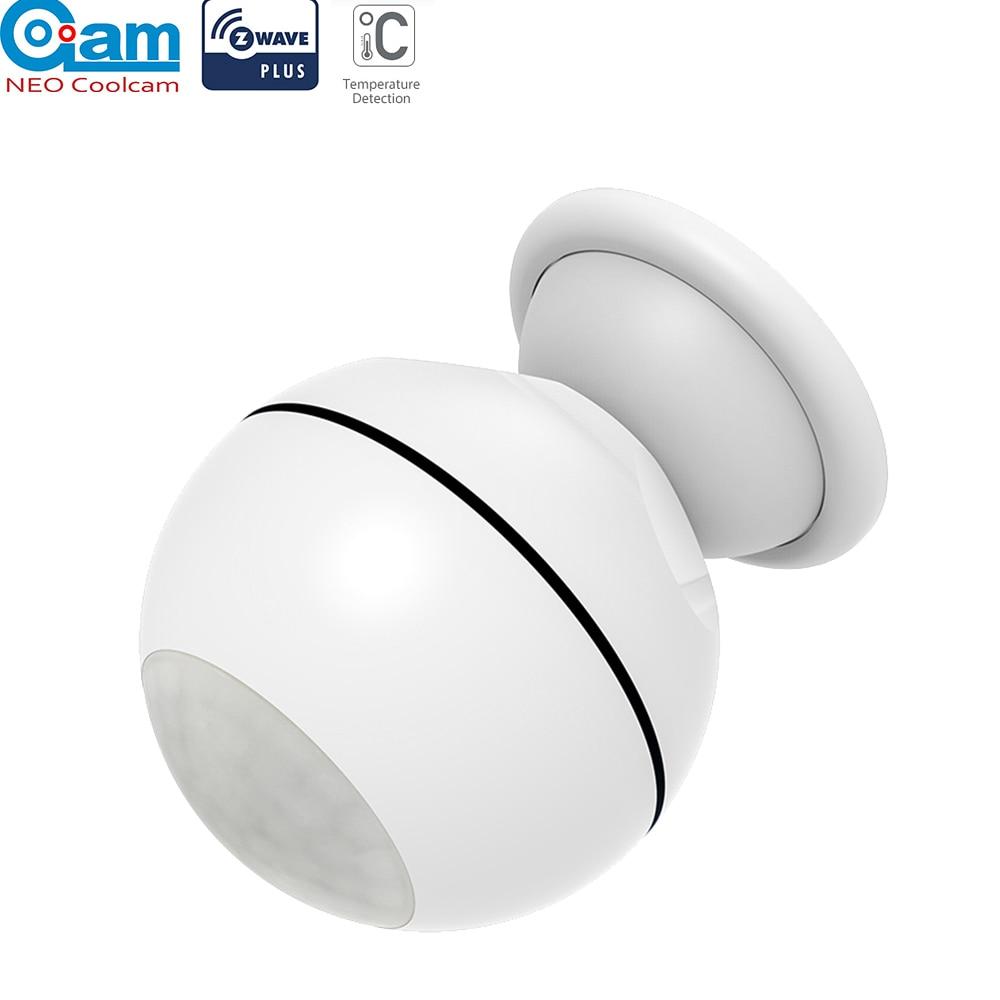 NEO COOLCAM Smart Home Z-wave PIR Motion Sensor Lux Temperature Detector Home Automation Alarm System Motion Alarm EU 868.4