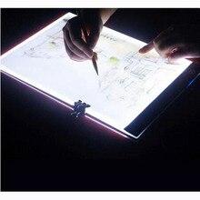 A4 A5 dessin graphique tablette boîte   Diamant lampe tampon lumineux plaque peinture diamant accessoires kit doutils LD220