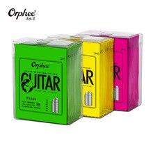 Orphee-cordes de guitare acoustique, 5/10 cordes de guitare hexagonales, noyau brillant, Extra légères TX620/TX630/TX640