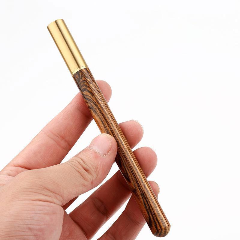 Высококачественная Черная роскошная деревянная шариковая ручка, деловые подарки, шариковая ручка для письма, офисные школьные принадлежно...