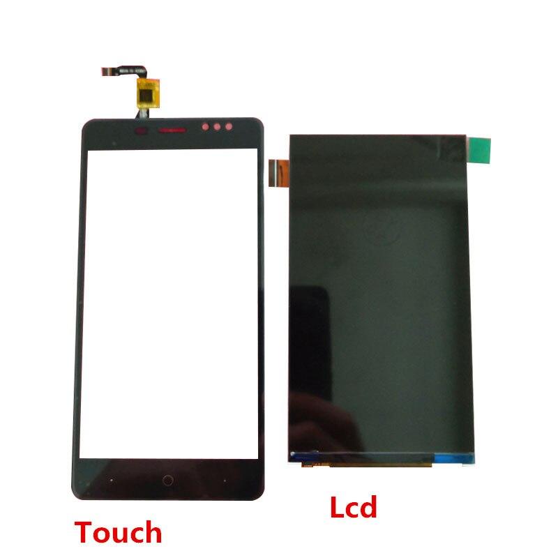 Nueva pantalla Lcd para BLUBOO D1 pantalla táctil cristal Sensor Panel lente vidrio reemplazo Módulo de montaje con marco teléfono celular